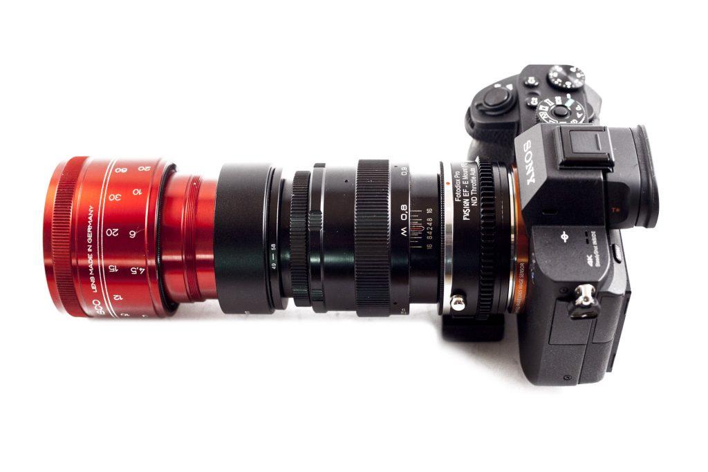 anamorphic lens kit