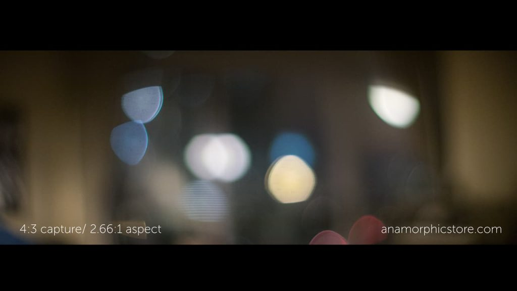 Anamorphic Lens 4:3 Crop Mode