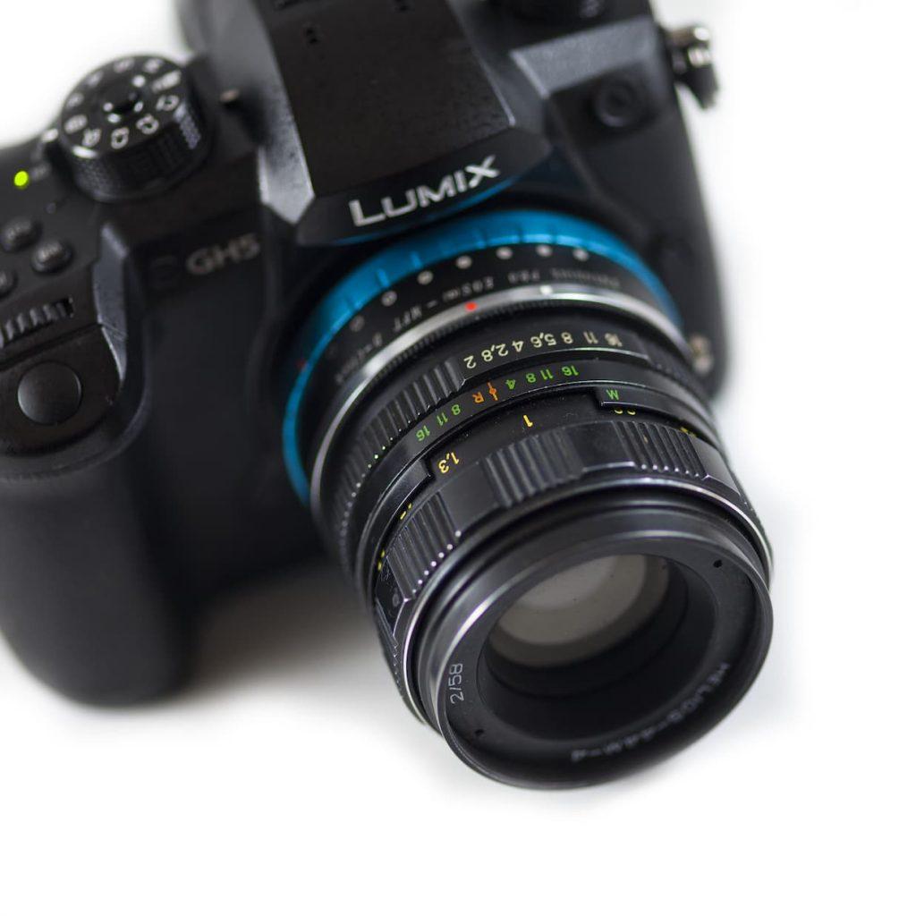 helios anamorphic lens