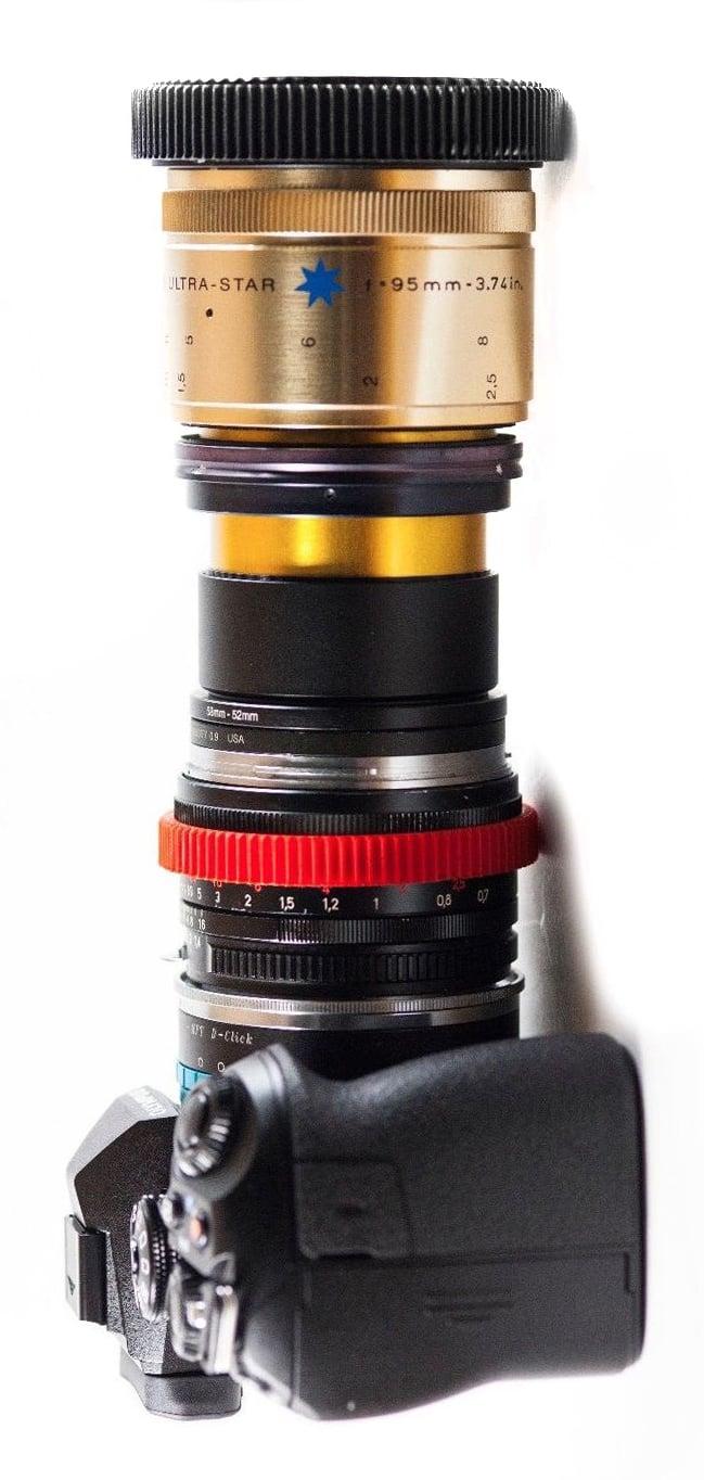single focus anamorphic lens