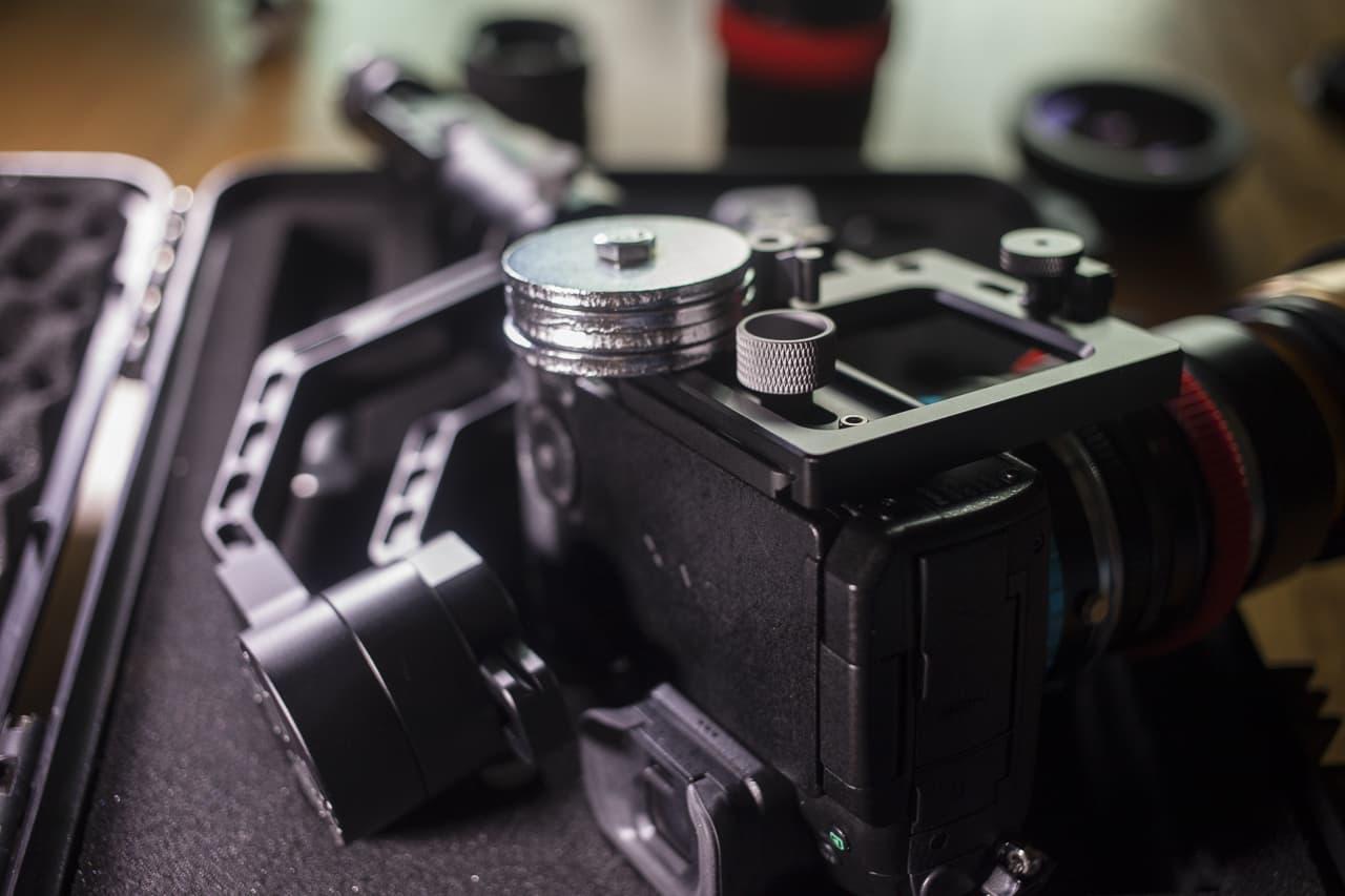 zhiyun crane anamorphic lens counterweight